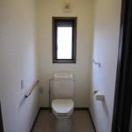2階トイレ 1階にもトイレあり