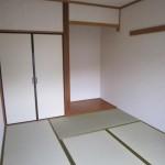 床の間つきの和室6帖