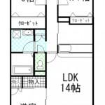 間取り(現状優先) LDK13.7