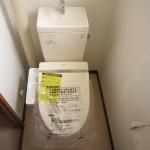 トイレ 温水洗浄便座付(新品)