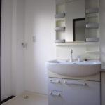 洗面化粧台 シャンプー付シングル水栓